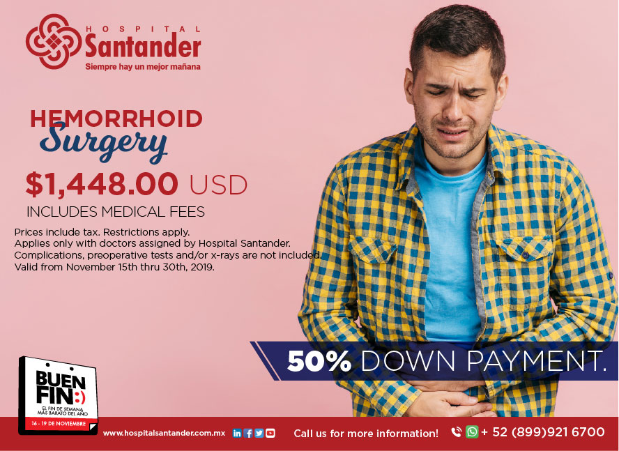 Medical fees included in special price. 50% down payment to schedule now!