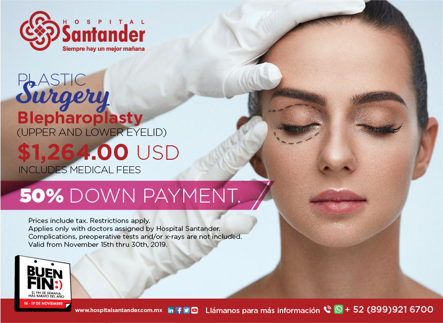 Rejuvenete your gaze. Schedule with 50% down payment.